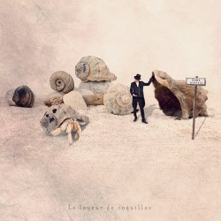 Le loueur de coquilles, photographie d'art couleur