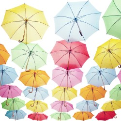 photo de parapluies, Photographie d'art, Photographie couleur