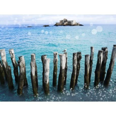 photo de mer, Le Grand Bé, photographie artistique de paysage