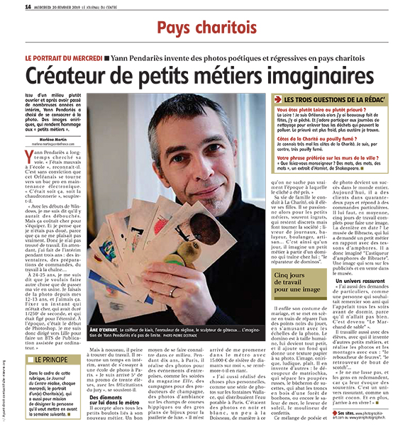 journal du centre 2019