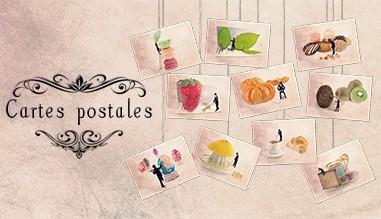 Cartes postales Les Tout Petits Métiers par Yann Pendariès, cartes artistiques, Idée cadeau