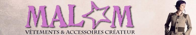 Site Internet Créatrice de mode MALAM, vêtements de jeune créateur