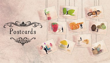 The Tiny Trades postcards, Fun postcards Les Tout Petits Métiers by Yann Pendariès